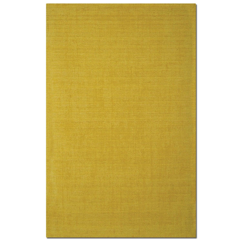 Rugs - Basics 5' x 8' Area Rug - Yellow