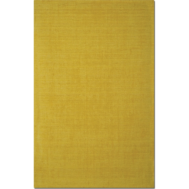 Rugs - Basics 8' x 10' Area Rug - Yellow