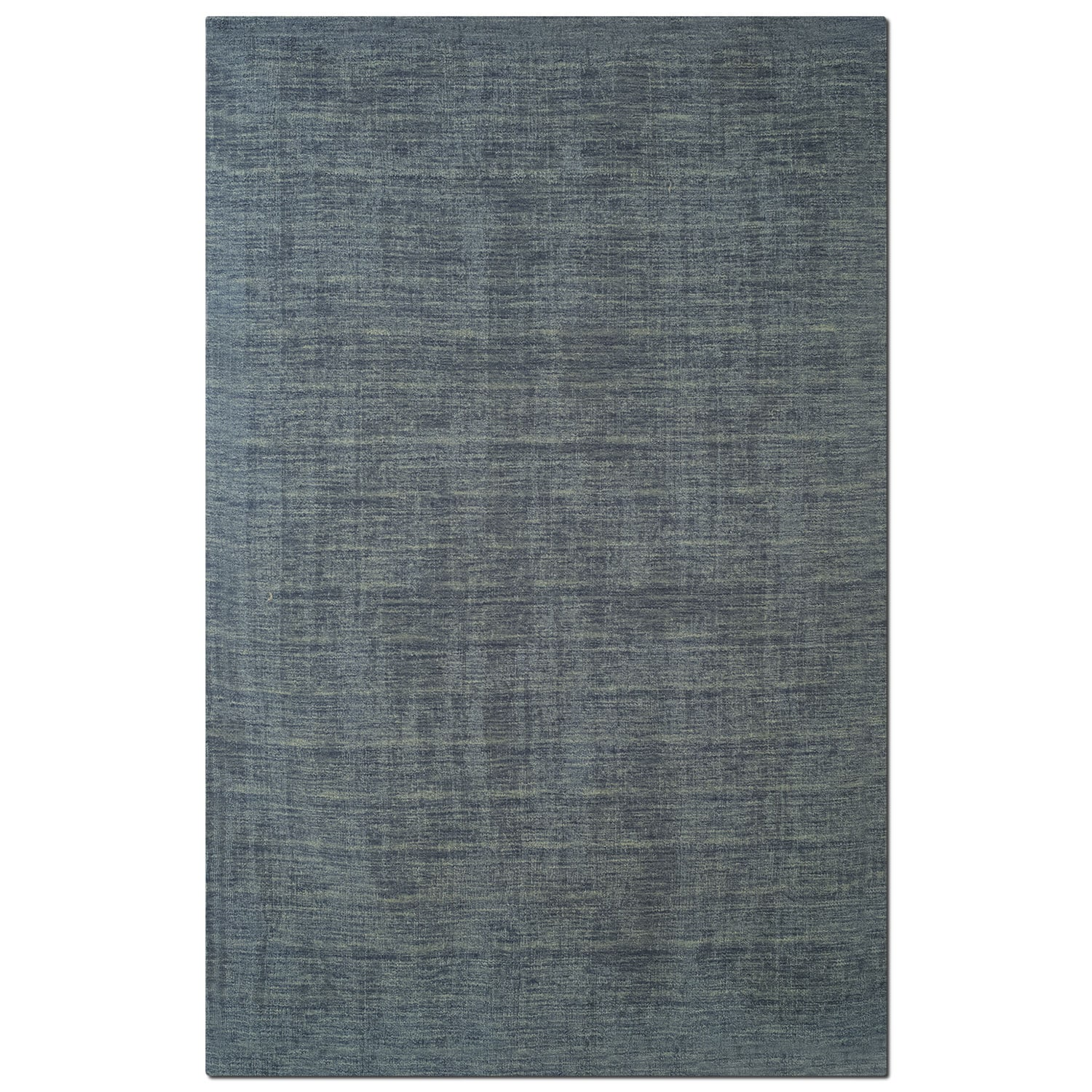Rugs - Basics 5' x 8' Area Rug - Gray and Blue