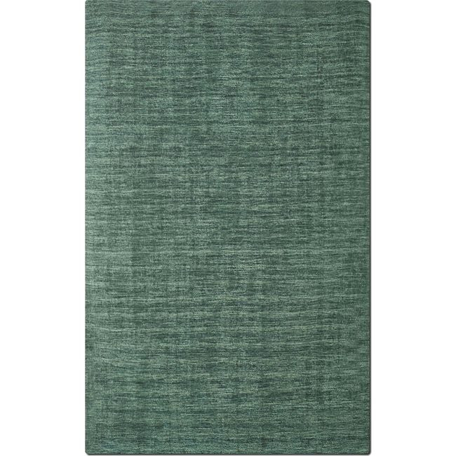 Rugs - Basics 5' x 8' Area Rug - Teal