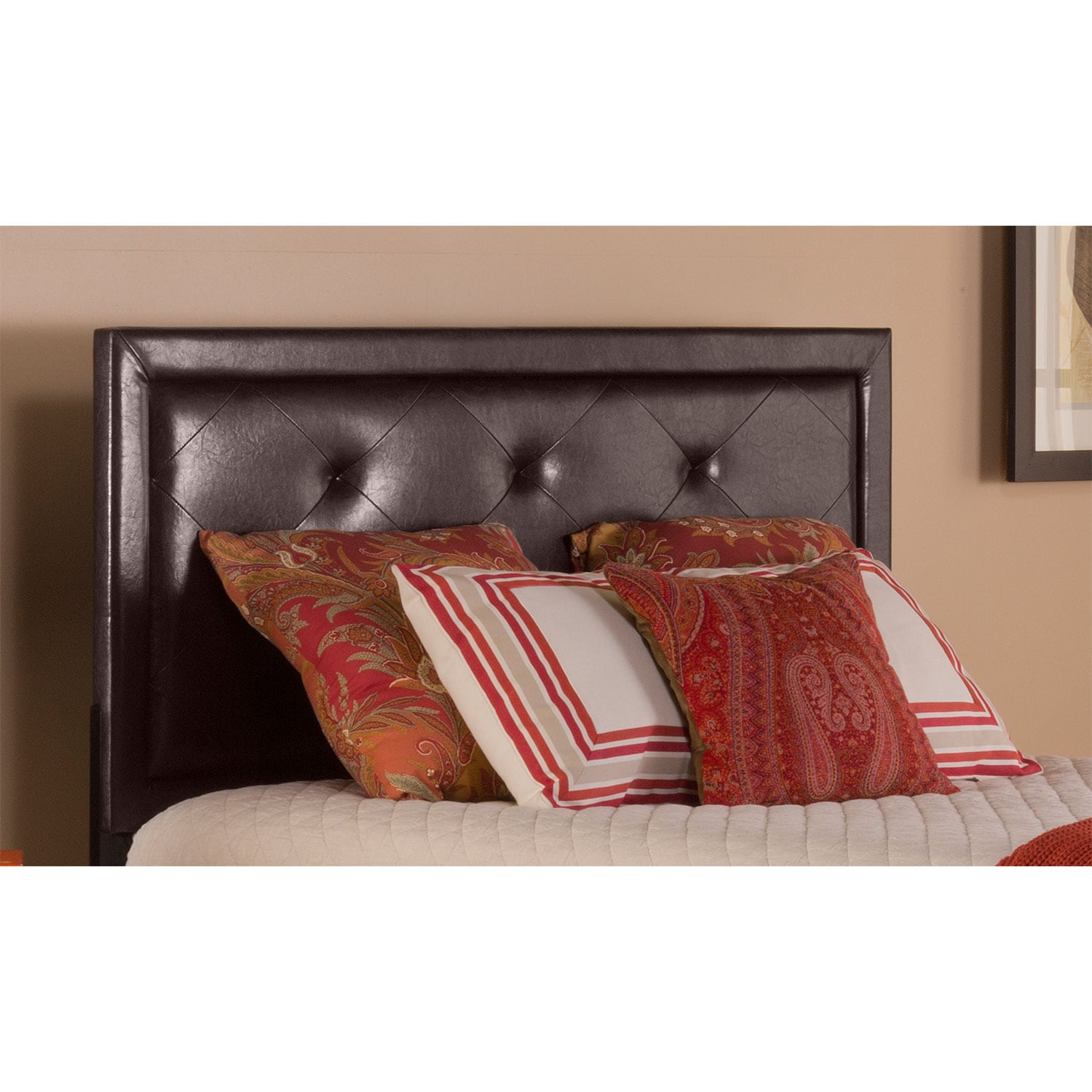 Bedroom Furniture - Becker Queen Headboard - Brown