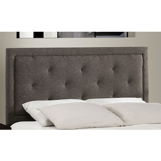 Becker Twin Headboard - Charcoal