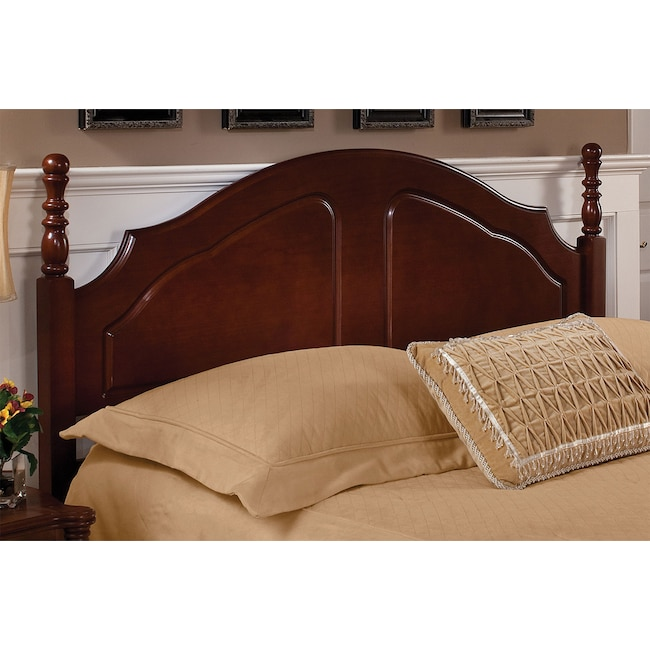 Kids Furniture - Cheryl Twin Headboard - Cherry
