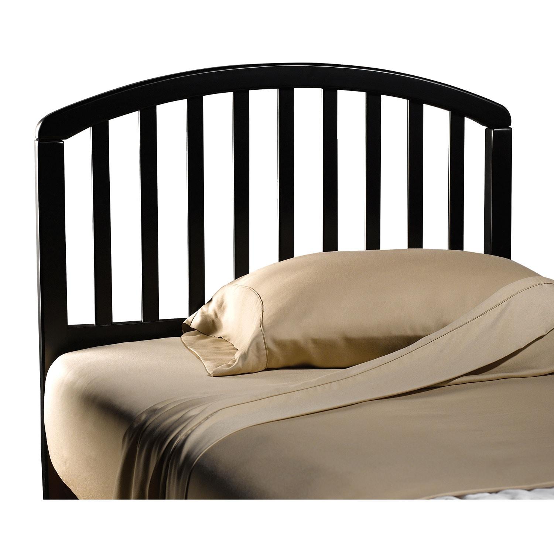 Bedroom Furniture - Carolina Twin Headboard - Black