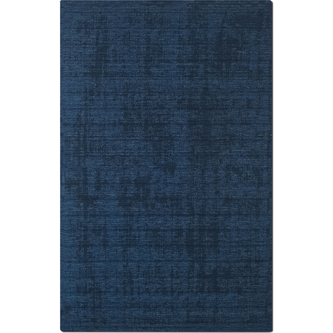 Rugs - Basics Area Rug - Dark Blue