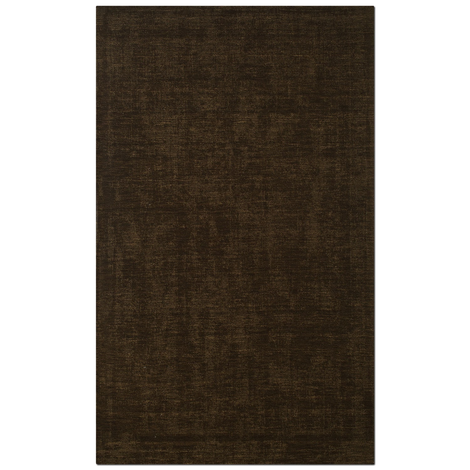 Rugs - Basics Area Rug - Medium Brown