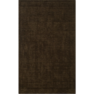 Basics 5' x 8' Area Rug - Medium Brown