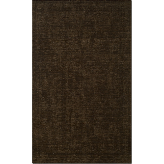 Rugs - Basics 5' x 8' Area Rug - Medium Brown