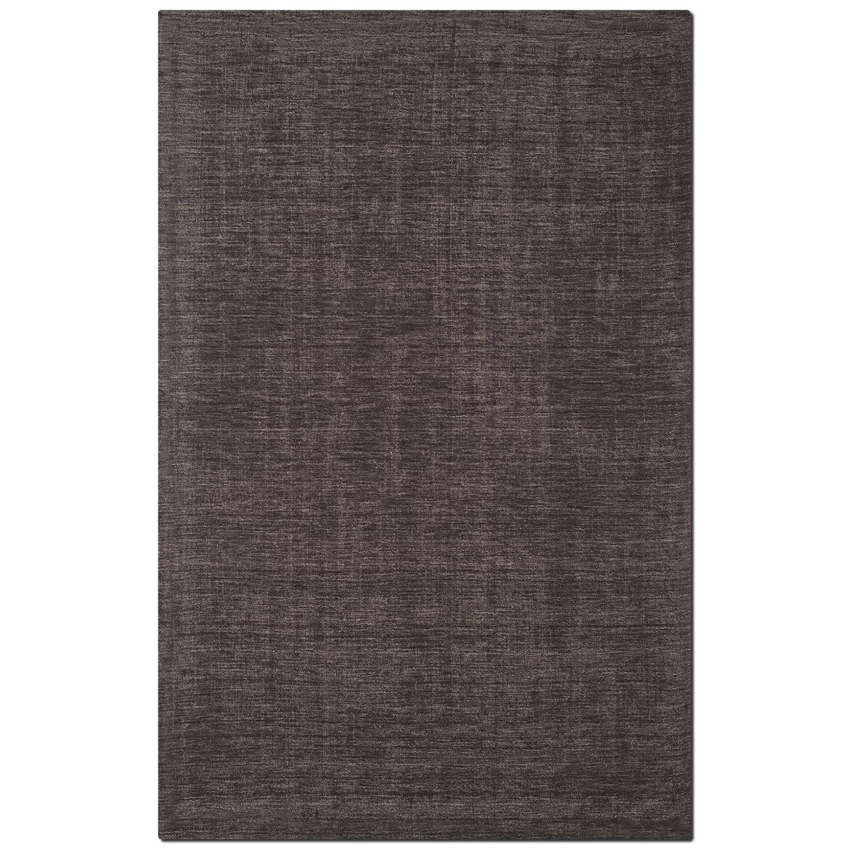 Rugs - Basics Area Rug - Charcoal