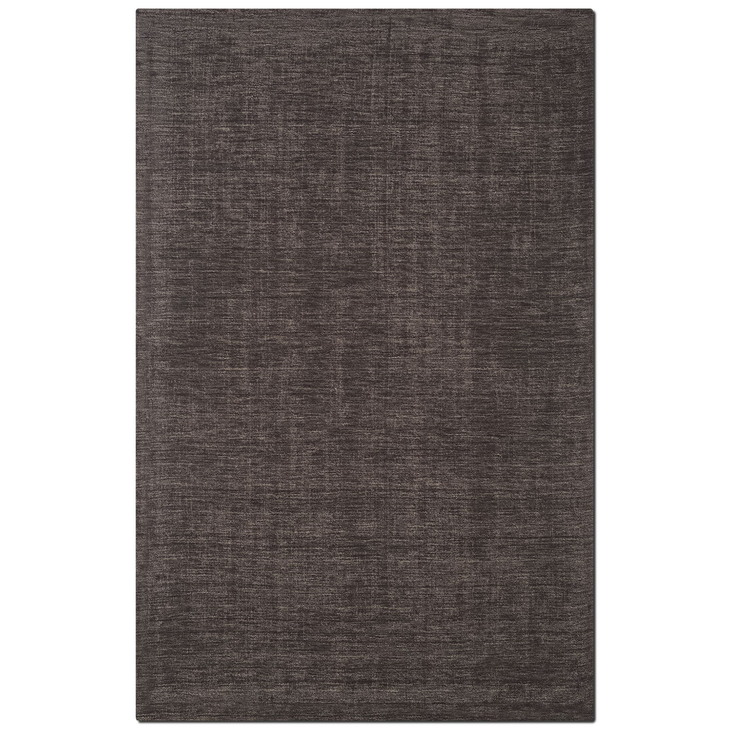 Rugs - Basics 8' x 10' Area Rug - Charcoal