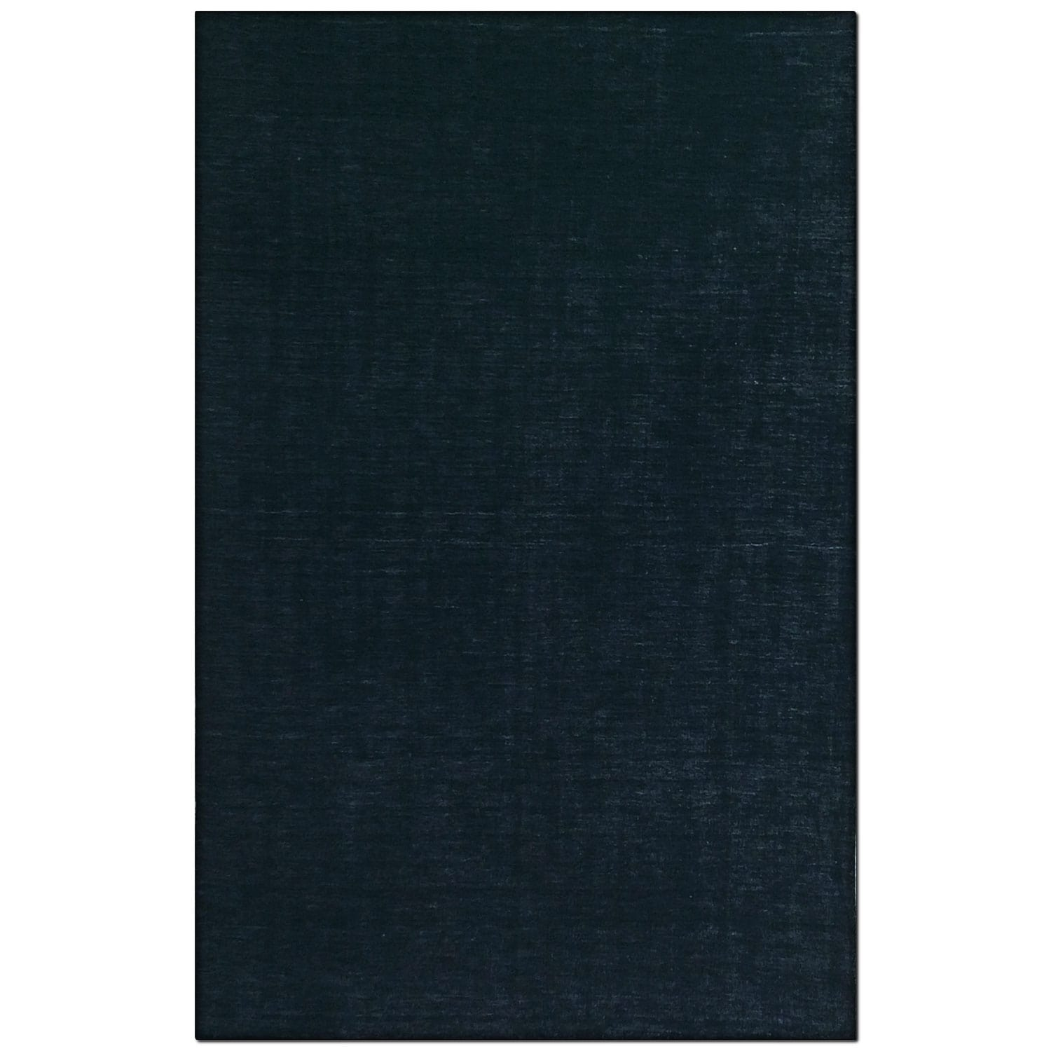 Basics 5' x 8' Area Rug - Black