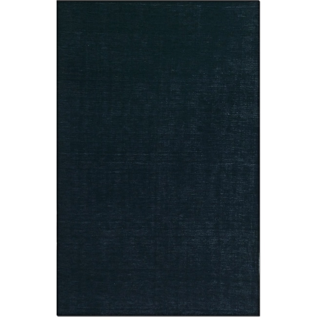 Rugs - Basics 5' x 8' Area Rug - Black