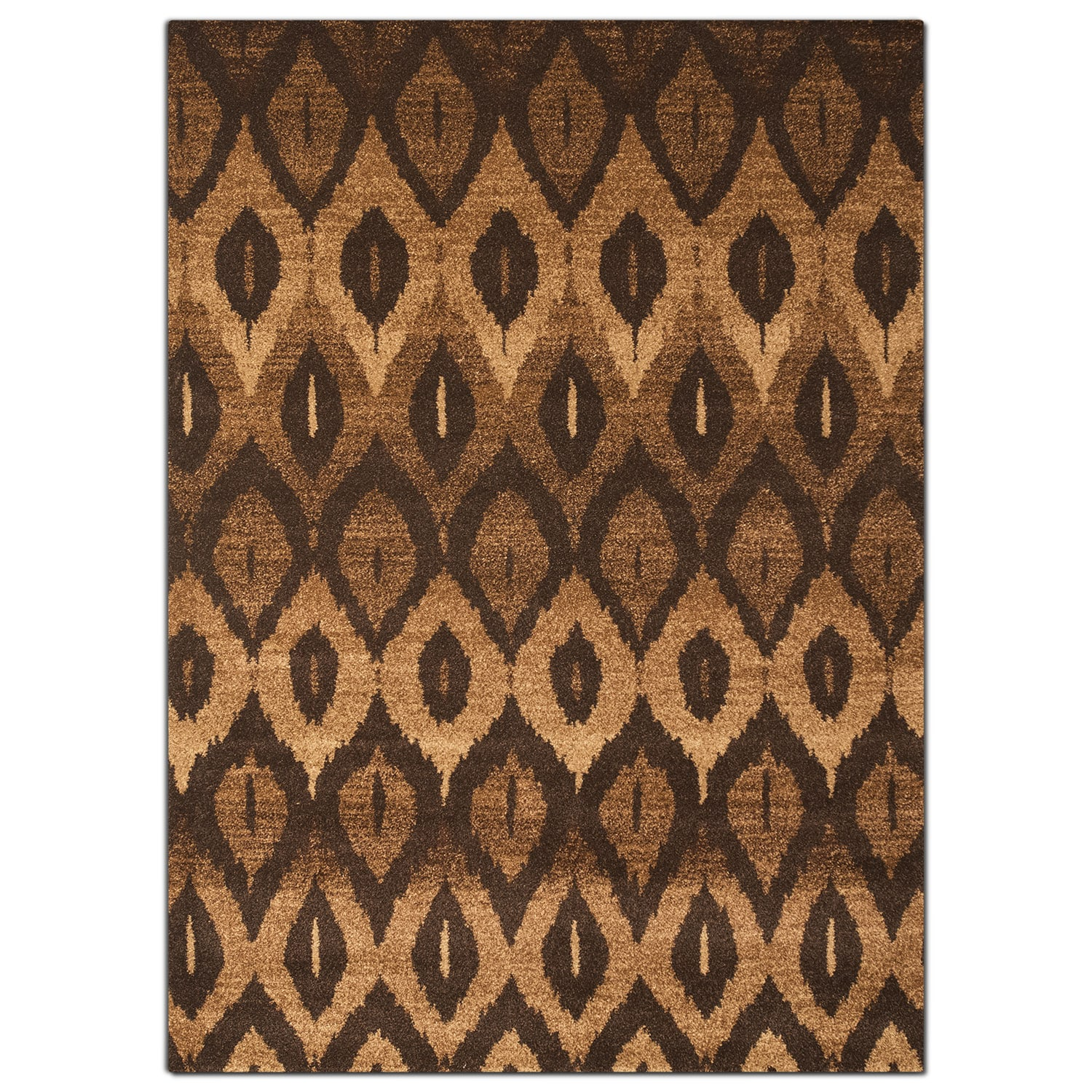 Chelsea 5' x 8' Area Rug - Brown