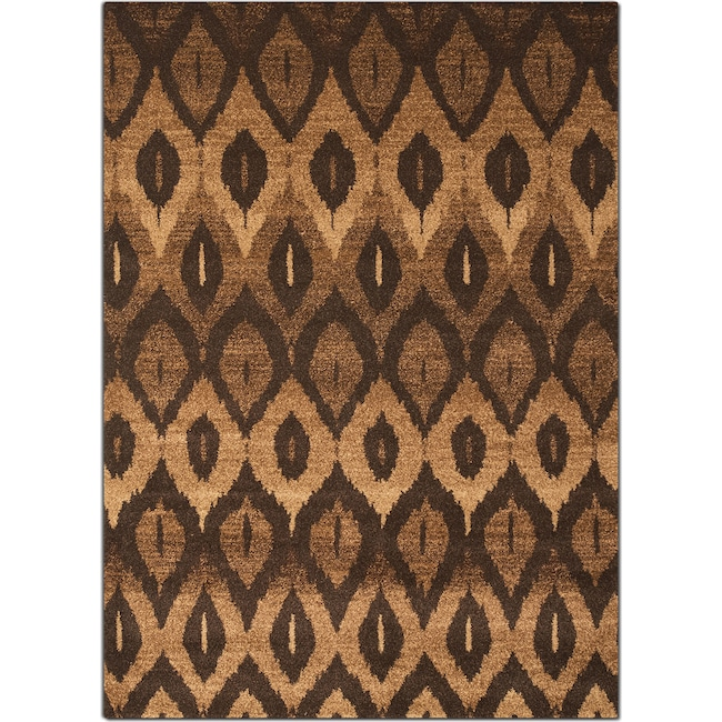 Rugs - Chelsea 8' x 10' Area Rug - Brown