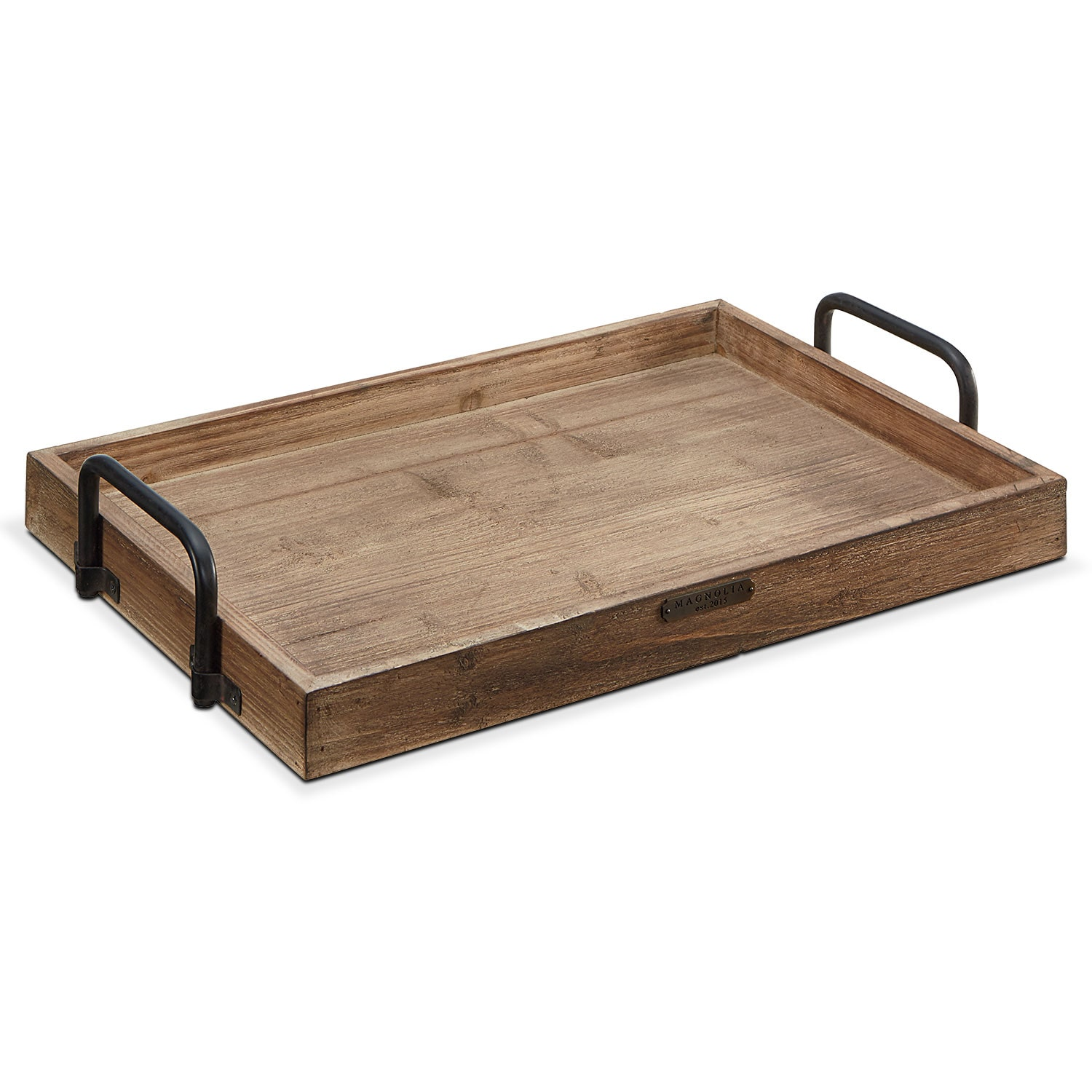 Breakfast Tray - Black Handles