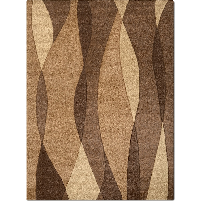 Rugs - Sedona 5' x 8' Area Rug - Brown