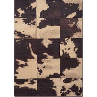 Sedona 5' x 8' Area Rug - Chocolate