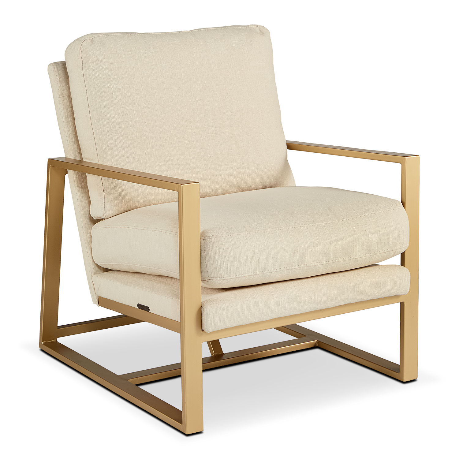 Accent and Occasional Furniture - Refine Accent Chair - Ivory
