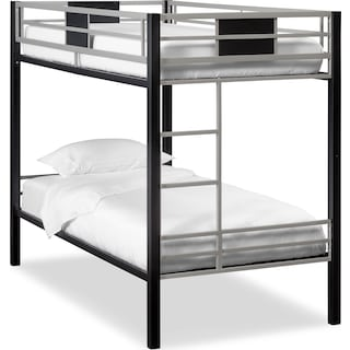 Samba Youth Twin Bunkbed - Matte Black