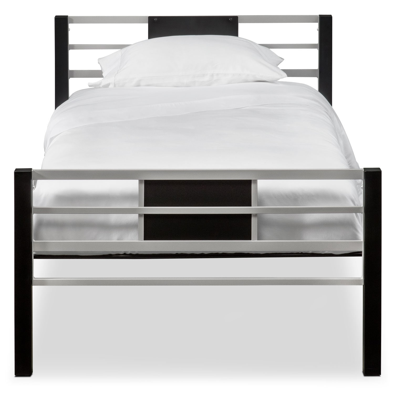 click to change image - Twin Iron Bed Frame