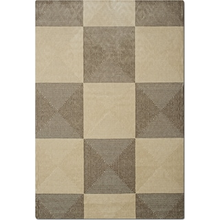 Metro 5' x 8' Area Rug - Gray and Charcoal