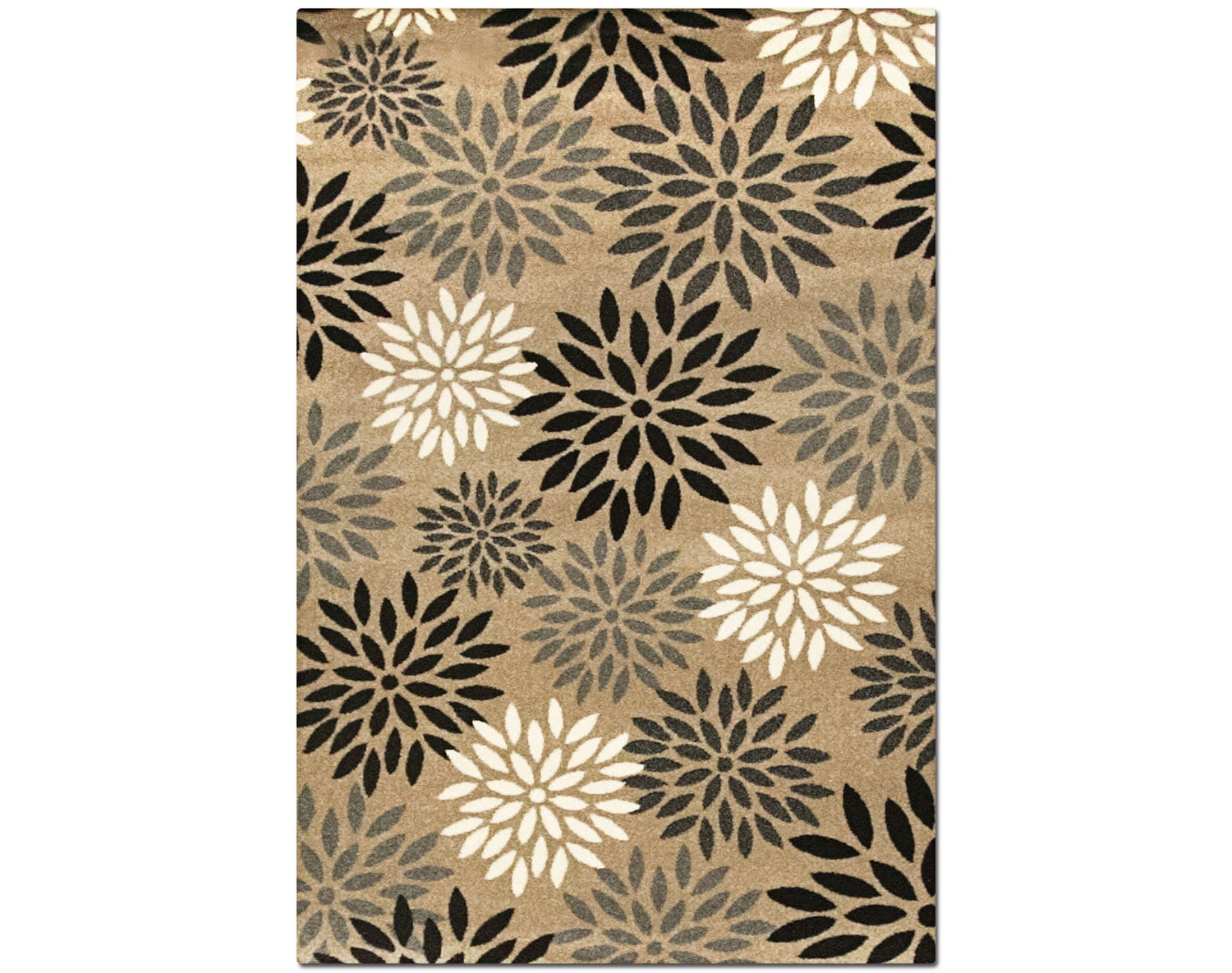 The Casa Collection - Tan and Black