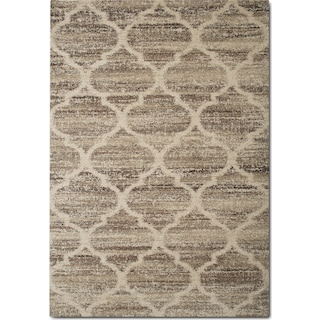 Granada 5' x 8' Area Rug - Tan and Brown