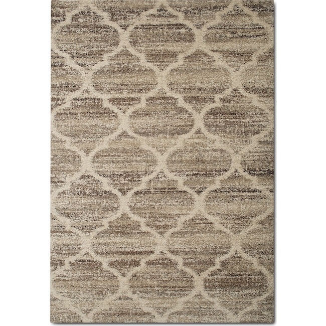 Granada 8 X 11 Area Rug Tan And Brown Value City Furniture And