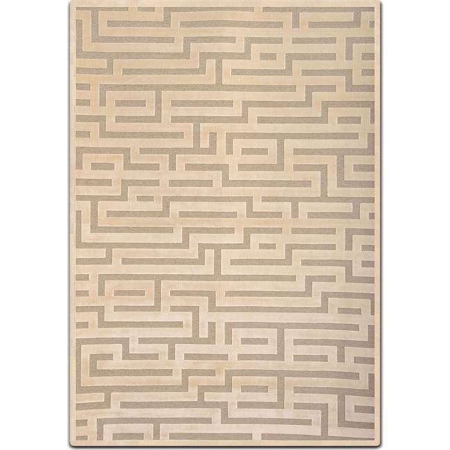 Rugs - Napa 5' x 8' Area Rug - Ivory