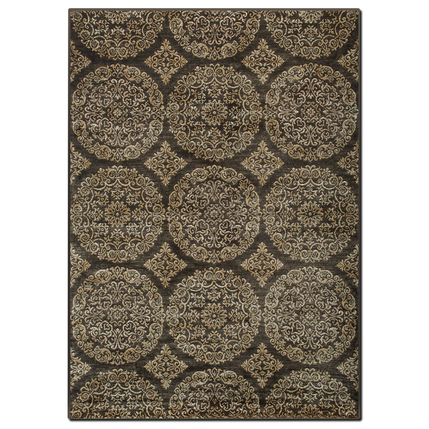 Rugs - Sonoma 8' x 10' Area Rug - Brown