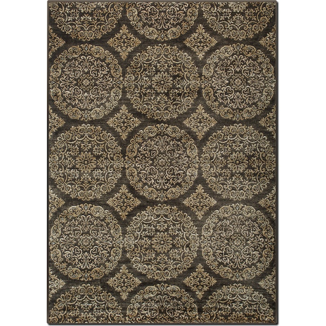 Rugs - Sonoma 5' x 8' Area Rug - Brown