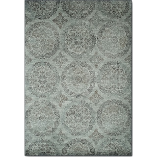 Sonoma 8' x 10' Area Rug - Beige and Light Blue