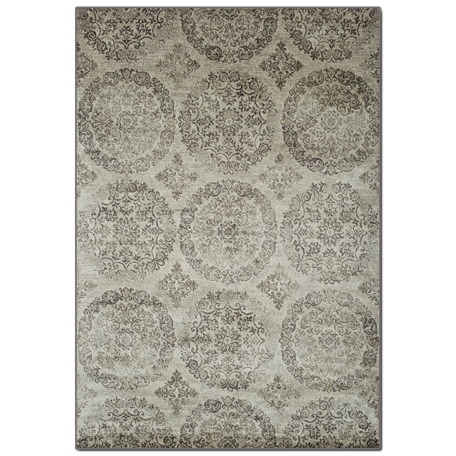 Rugs - Sonoma 8' x 10' Area Rug - Beige and Brown