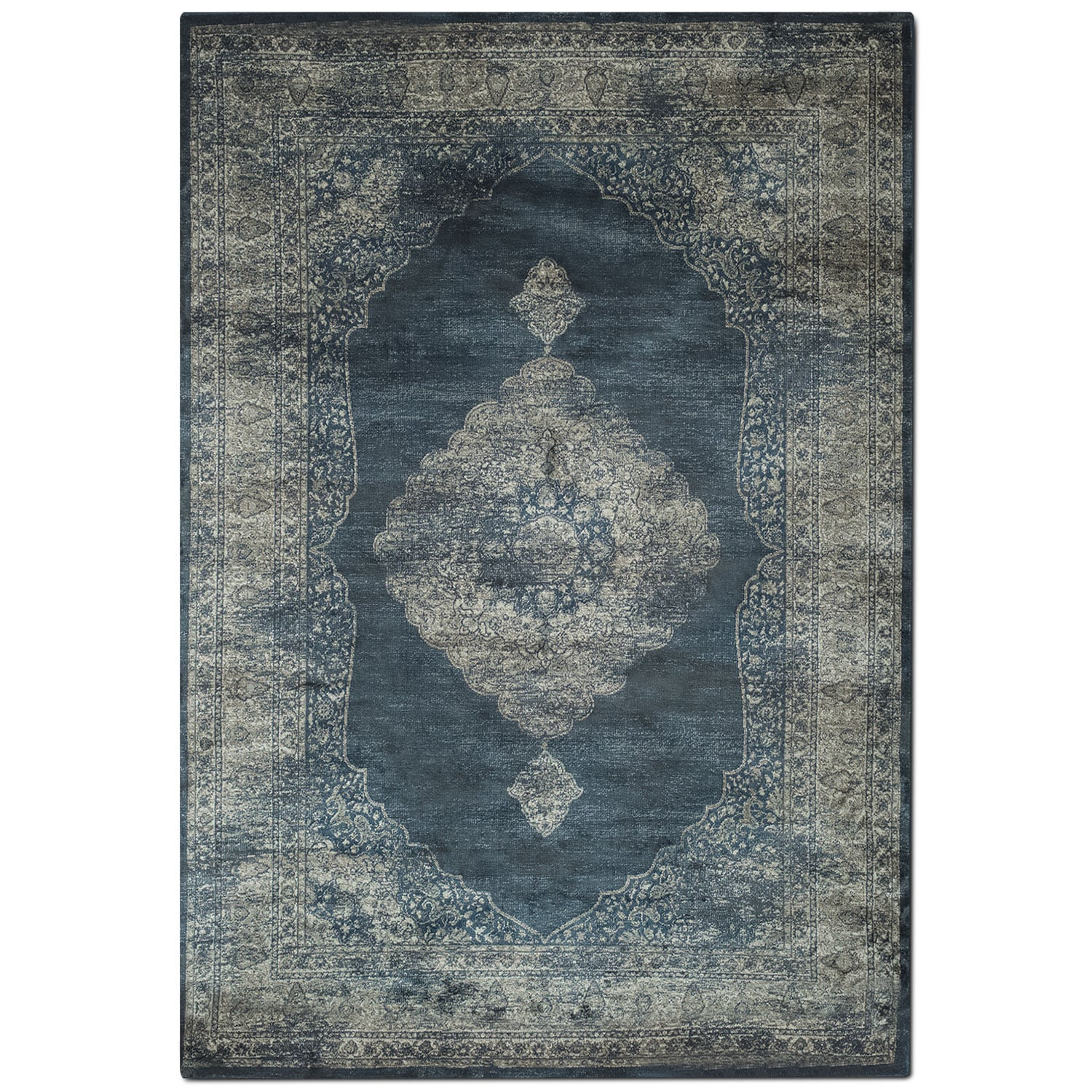 Rugs - Sonoma 5' x 8' Area Rug - Beige and Gray