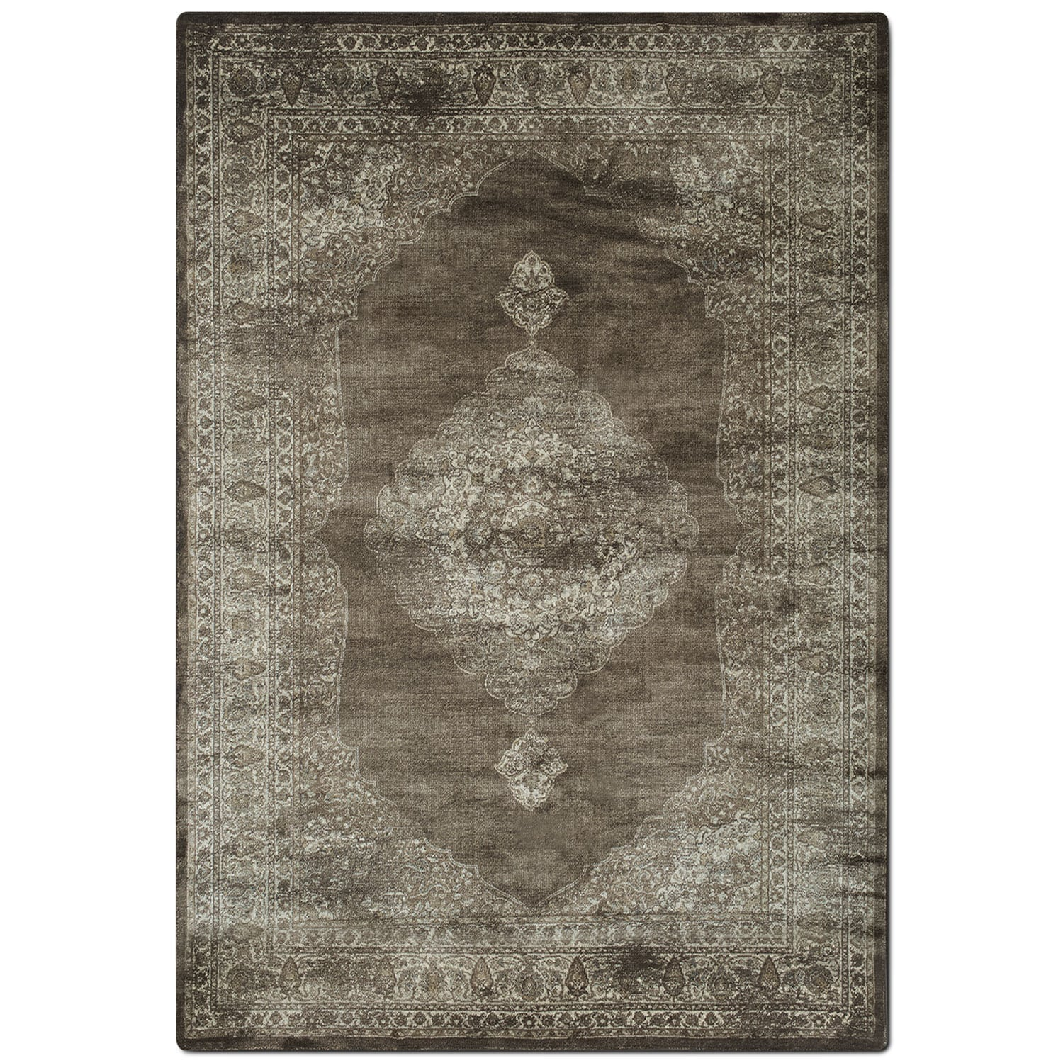 Rugs - Sonoma 5' x 8' Area Rug - Ivory and Beige