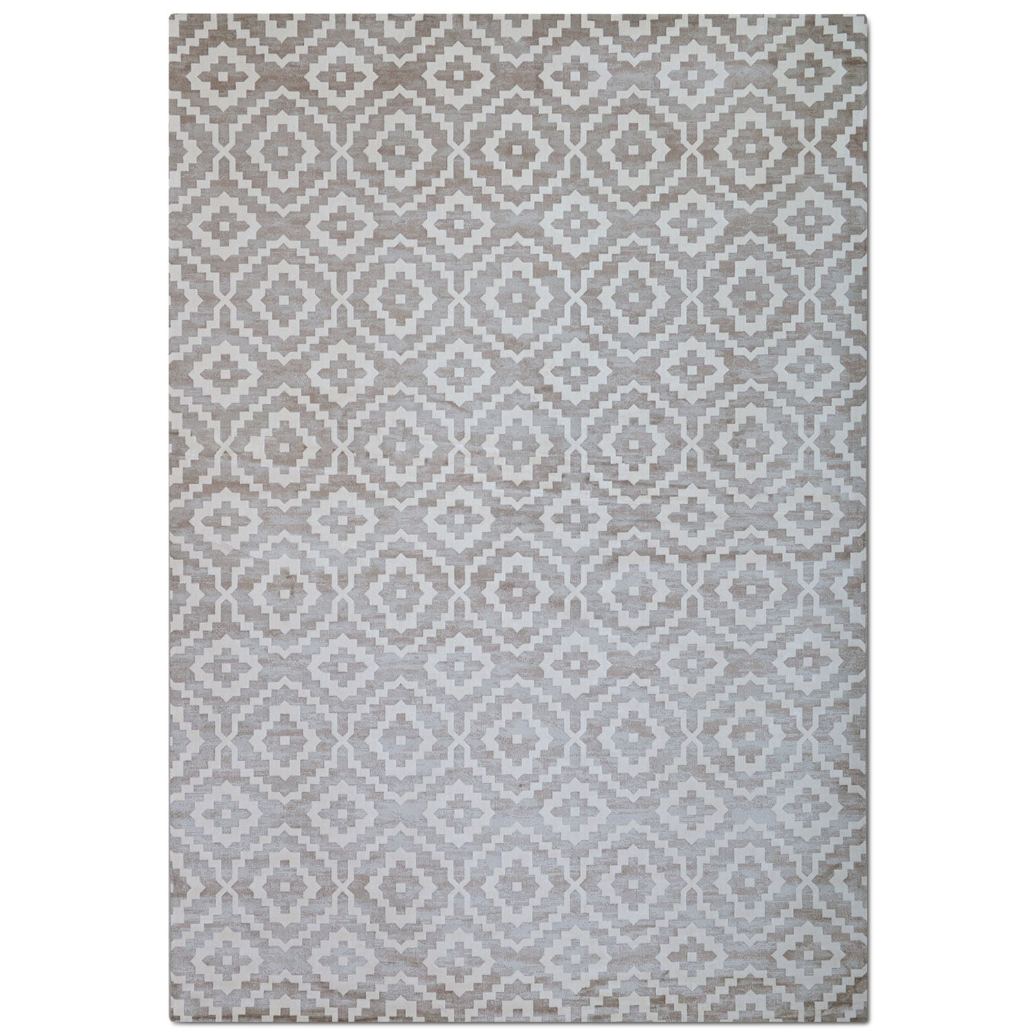 Rugs - Sonoma 8' x 10' Area Rug - Silver