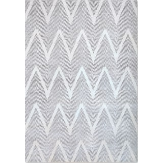 Sonoma 5' x 8' Area Rug - Silver and White