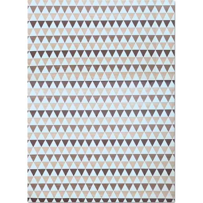 Rugs - Sonoma 5' x 8' Area Rug - Ivory and Chocolate