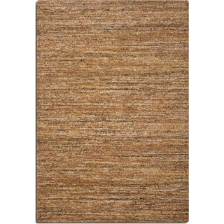 Granada 5' x 8' Area Rug - Rust and Brown