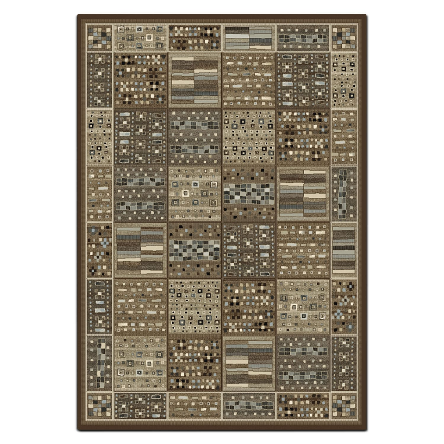 Rugs - Sonoma 5' x 8' Area Rug - Gray and Ivory