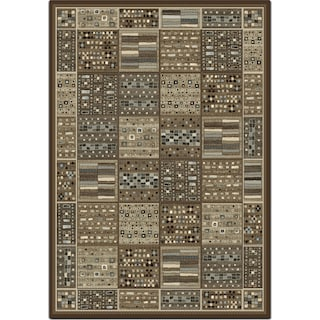 Sonoma 8' x 10' Area Rug - Gray and Ivory