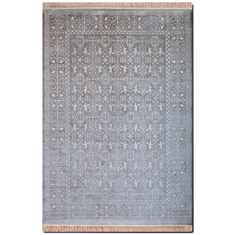 Rugs - Sonoma Area Rug - Silver Vintage