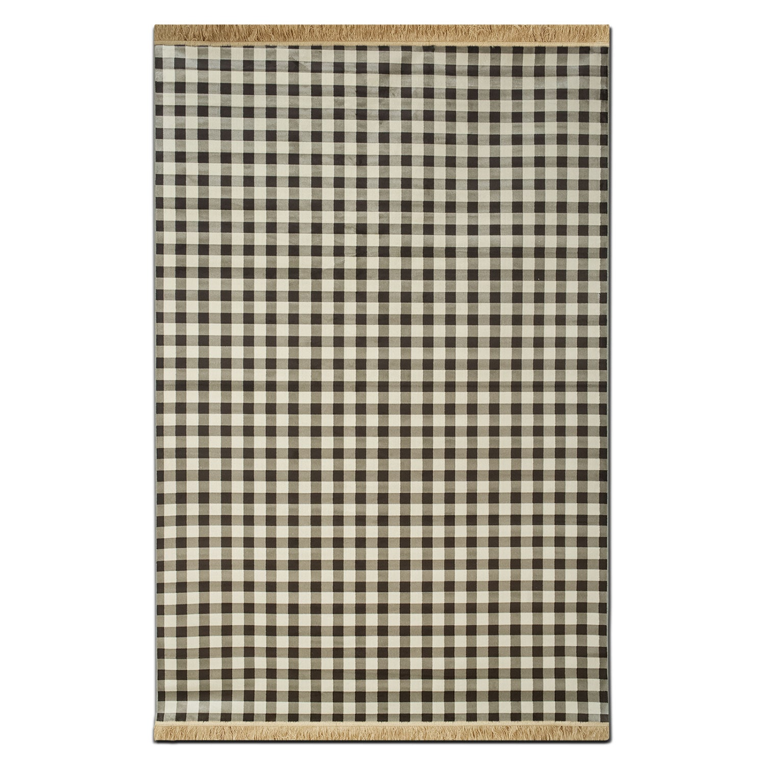 Rugs - Sonoma 5' x 8' Area Rug - Black and White