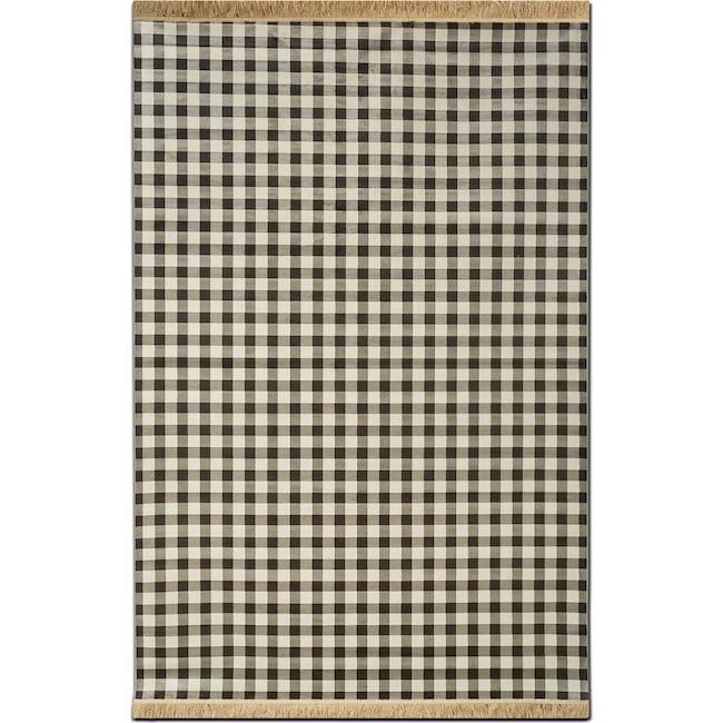 Rugs - Sonoma 8' x 10' Area Rug - Black and White