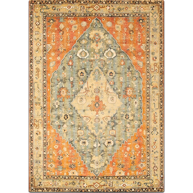 Rugs - Sonoma 8' x 10' Area Rug - Aqua and Celadon