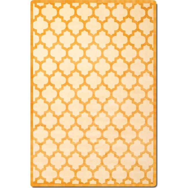 Rugs - Sonoma 8' x 10' Area Rug - Tangerine