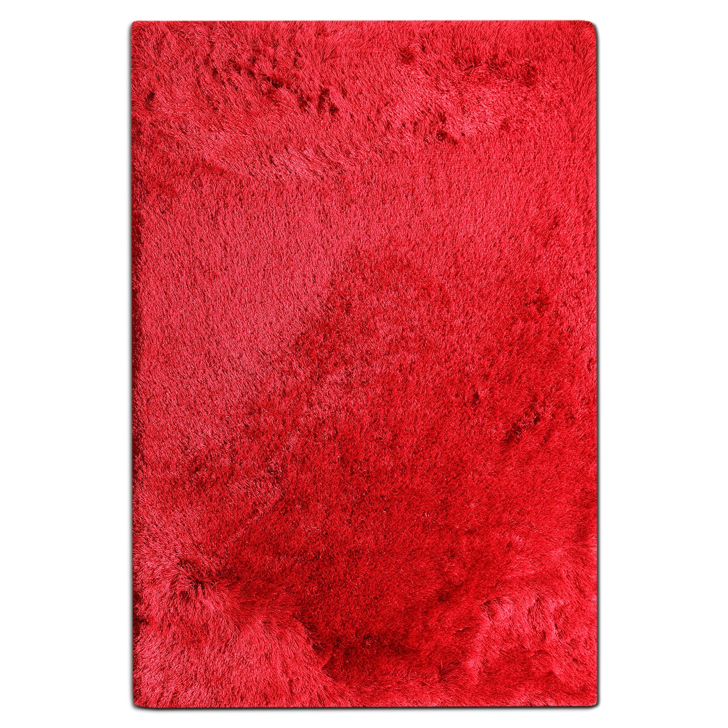 Rugs - Luxe 5' x 8' Area Rug - Ruby