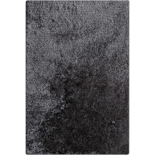 Luxe 8 X 10 Area Rug Charcoal Value City Furniture And Mattresses