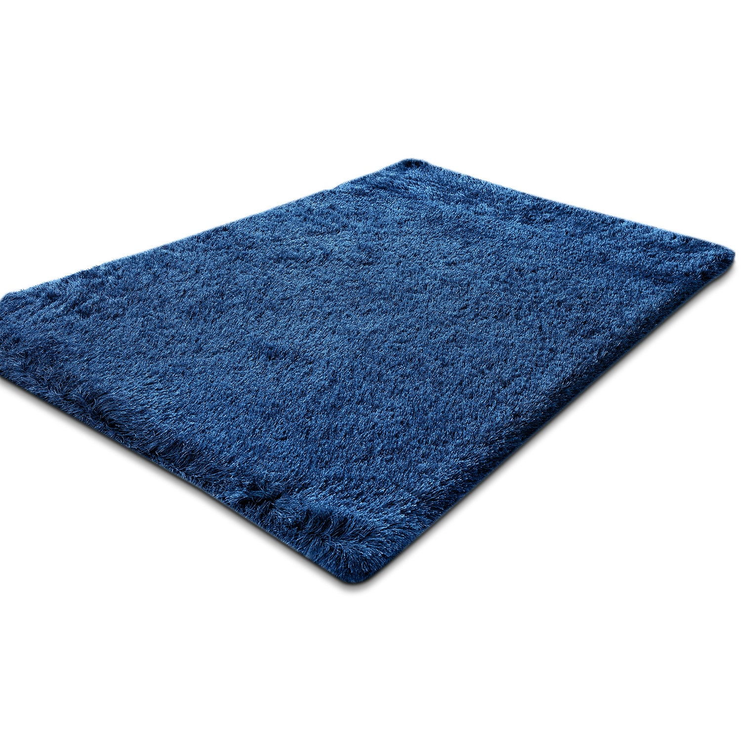 Rugs Furniture: Luxe 8' X 10' Area Rug - Sapphire