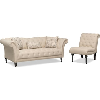 Marisol Sofa and Chair Set